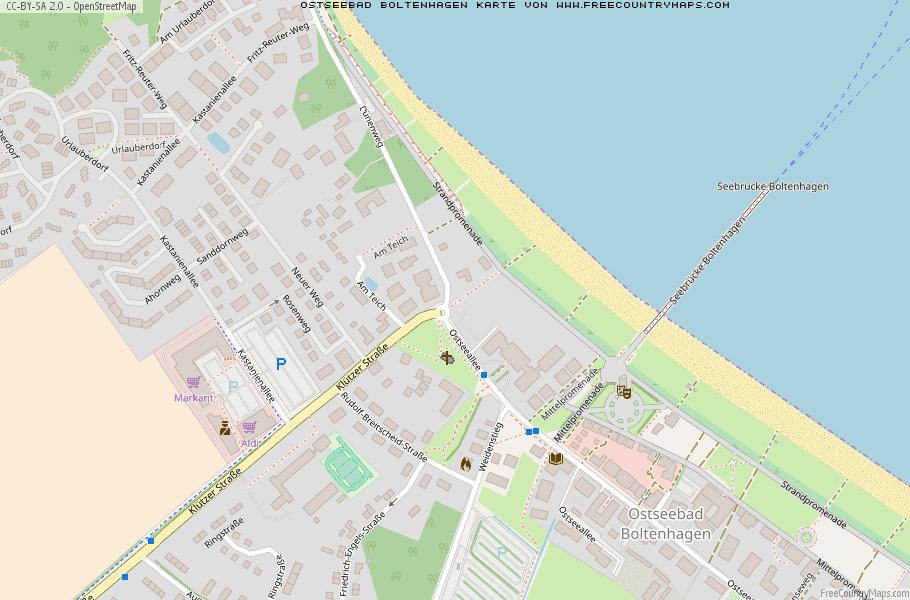 Ostseebad Boltenhagen Karte.Karte Von Ostseebad Boltenhagen Deutschland Breiten Und
