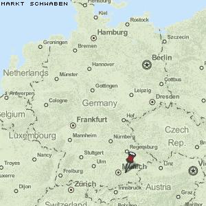 Schwaben Karte Deutschland.Karte Von Markt Schwaben Deutschland Breiten Und Längengrad