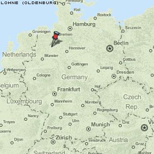 deutschland karte oldenburg Karte von Lohne (Oldenburg) :: Deutschland Breiten  und Längengrad