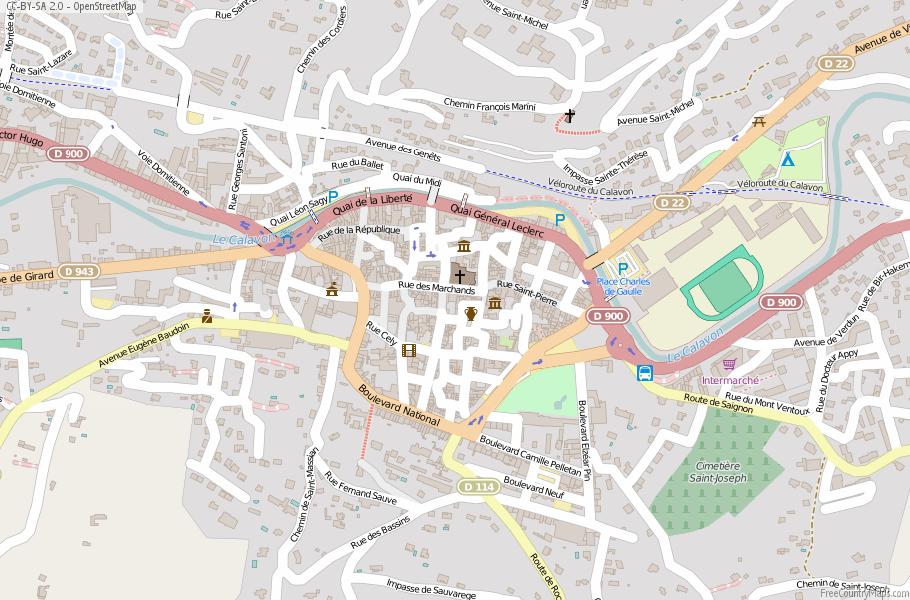 Apt Map France Latitude Longitude Free France Maps