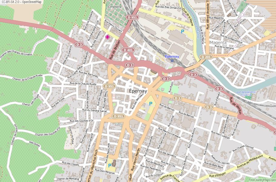 pernay Map France Latitude Longitude Free Maps