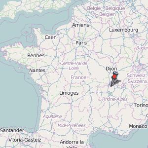 Macon France Map.Macon Map France Latitude Longitude Free Maps