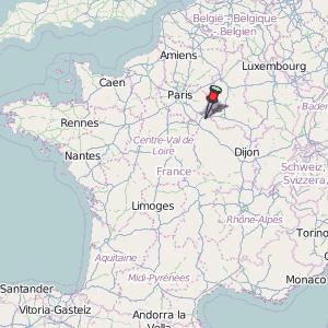 Map Of Yonne France.Pont Sur Yonne Map France Latitude Longitude Free Maps