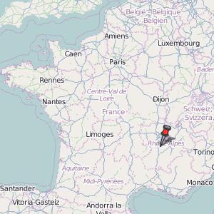 Roussillon France Map.Roussillon Map France Latitude Longitude Free Maps
