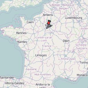 Map Of Yvelines France.Saint Arnoult En Yvelines Map France Latitude Longitude Free Maps