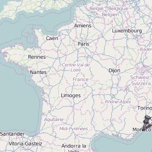 Beaulieu sur Mer Map France Latitude & Longitude: Free Maps