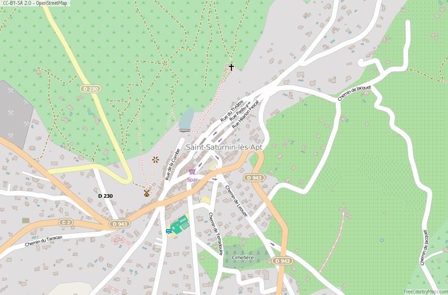 Apt France Map.Saint Saturnin Les Apt Map France Latitude Longitude Free Maps