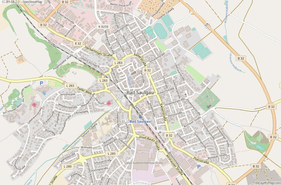Map Of Germany For Sale.Bad Saulgau Map Germany Latitude Longitude Free Maps