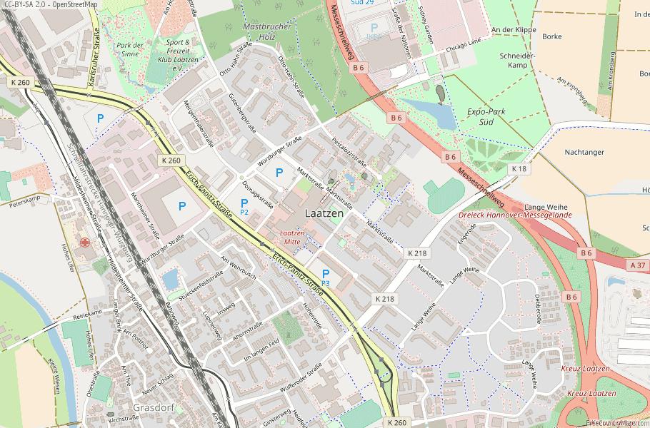 Laatzen Germany Map
