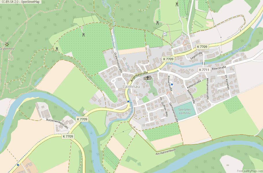 Map Of Germany Landforms.Laimnau Map Germany Latitude Longitude Free Maps