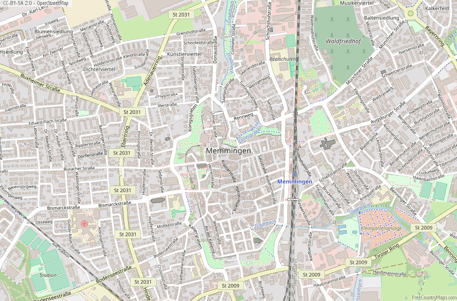Map Of Germany Memmingen.Memmingen Map Germany Latitude Longitude Free Maps