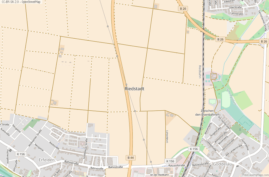 Riedstadt Germany Map