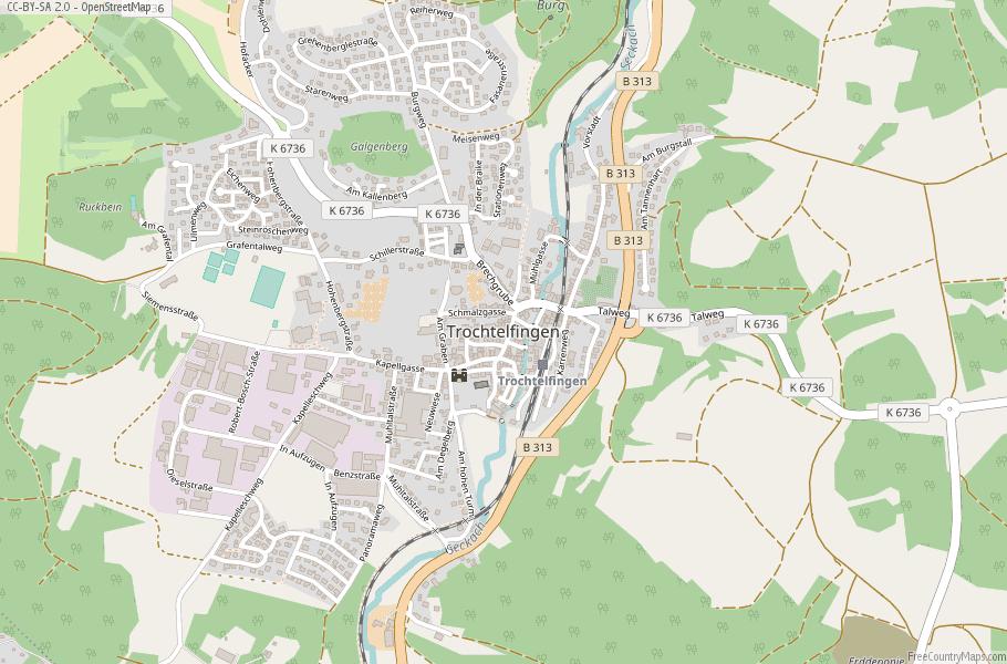 Trochtelfingen Germany Map