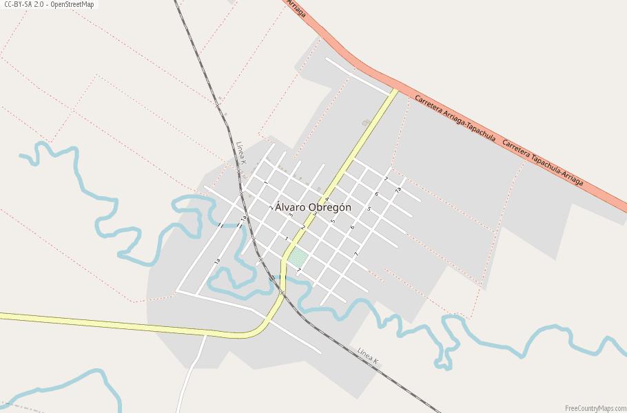 Obregon Mexico Map.Alvaro Obregon Map Mexico Latitude Longitude Free Maps