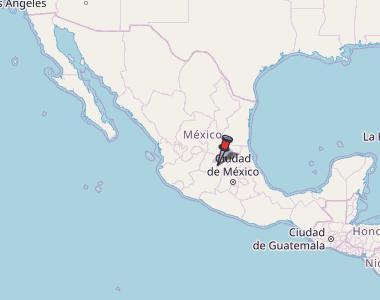 san miguel de allende guanajuato mexico map San Miguel De Allende Map Mexico Latitude Longitude Free Maps