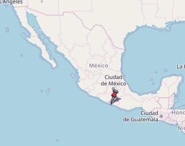 Acapulco de Juárez Map Mexico Latitude & Longitude: Free Maps