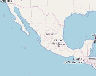 Playa del Carmen Map Mexico Latitude & Longitude: Free Maps