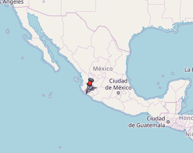 Careyes Mexico Map.Careyes Map Mexico Latitude Longitude Free Maps