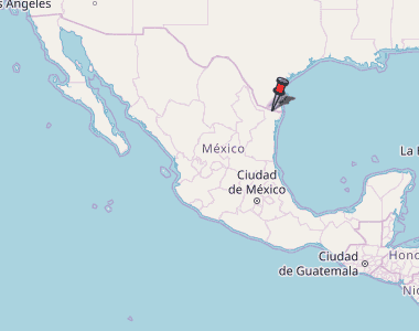 Rio Bravo Mexico Map.Rio Bravo Map Mexico Latitude Longitude Free Maps