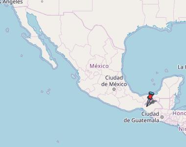 Quintana Roo Map Mexico Latitude Longitude Free Maps