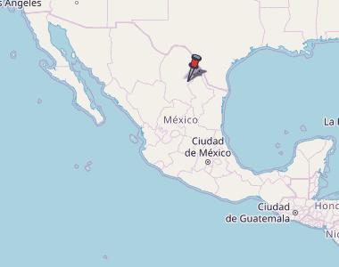 Monclova Mexico Map.Monclova Map Mexico Latitude Longitude Free Maps