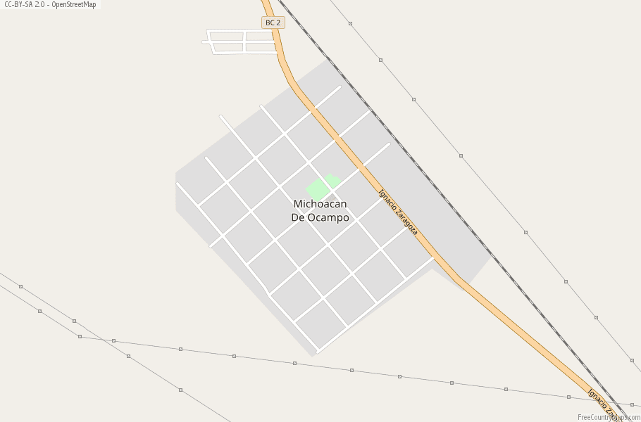 Michoacan De Ocampo Map Mexico Latitude & Longitude: Free Maps