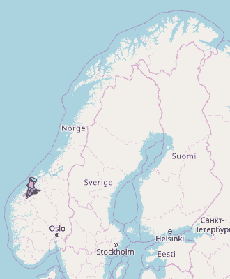 Trandal Map Norway Latitude Longitude Free Maps