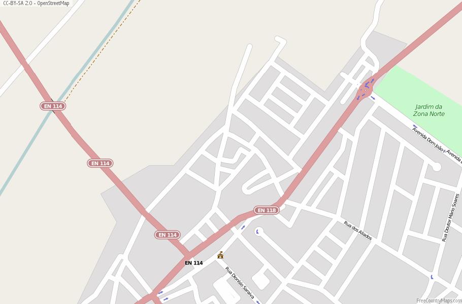 Almeirim Portugal Map