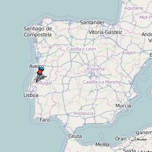 mapa portugal batalha Batalha Map Portugal Latitude & Longitude: Free Maps mapa portugal batalha