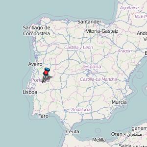 mapa portugal abrantes Abrantes Map Portugal Latitude & Longitude: Free Maps mapa portugal abrantes
