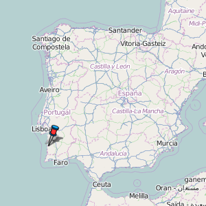 sines mapa portugal Sines Map Portugal Latitude & Longitude: Free Maps sines mapa portugal