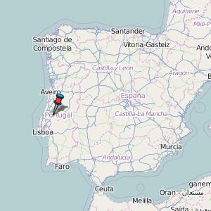 Fatima Portugal Map Fátima Map Portugal Latitude & Longitude: Free Maps
