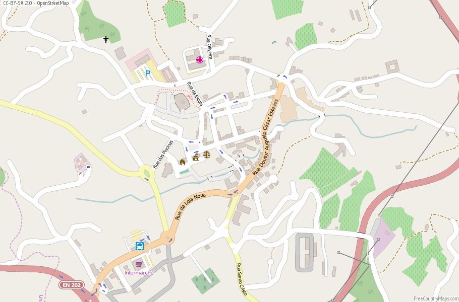Melgaço Map Portugal Latitude Longitude Free Portugal Maps - Portugal map longitude
