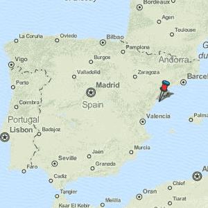 Alcanar Spain Map.Alcanar Map Spain Latitude Longitude Free Maps