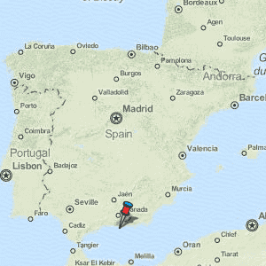 Almunecar Spain Map.Almunecar Map Spain Latitude Longitude Free Maps