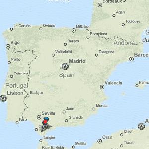 Medina Sidonia Map Spain Latitude & Longitude: Free Maps