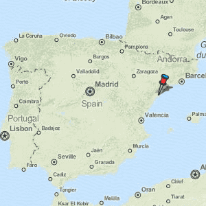 Google Map Of Spain.Tortosa Map Spain Latitude Longitude Free Maps