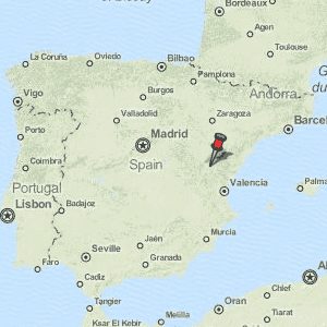 Teruel Spain Map.Teruel Map Spain Latitude Longitude Free Maps