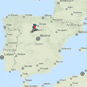Map Of Spain Valladolid.Valladolid Map Spain Latitude Longitude Free Maps