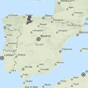 Map Of Spain Leon.Leon Map Spain Latitude Longitude Free Maps