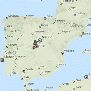 Mapa Talavera Dela Reina.Talavera De La Reina Map Spain Latitude Longitude Free Maps