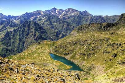 Arcalis Pyrenees Mountains Andorra