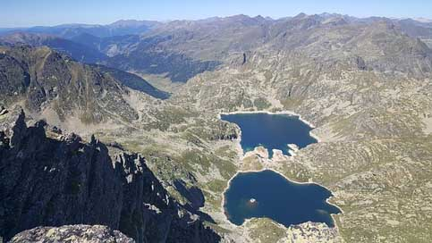 Estany Andorra Mountain Views