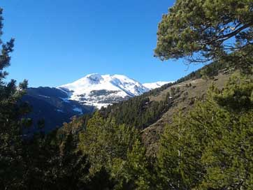 Andorra Nature Snow Mountain
