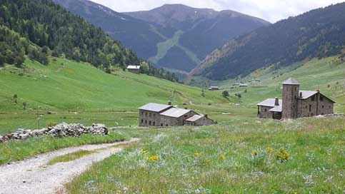Andorra Pyrenees Holiday Mountains