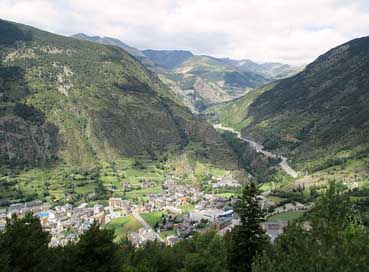 Andorra  Summer Mountains