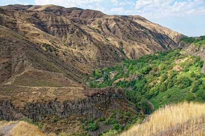 Armenia Mountains Gorge Garni-Gorge