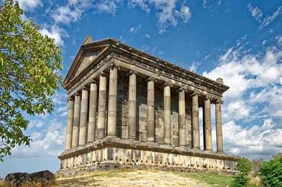 Armenia Building Temple The-Temple-Of-Garni