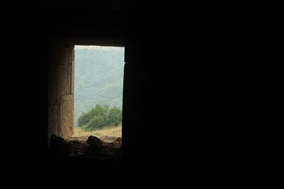 Window Copy-Space Armenia Dark