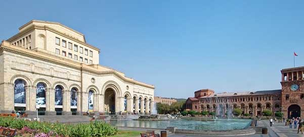 Armenia Singing-Fountain Republic-Square Yerevan